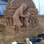 sand sculptor jamie wardley germany sand artist
