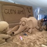 sand sculptor jamie wardley yorkshire