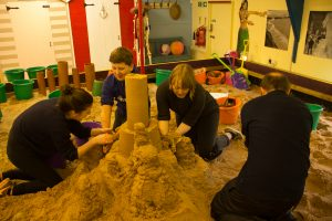 Sand Sculpture Workshop Space, Yorkshire
