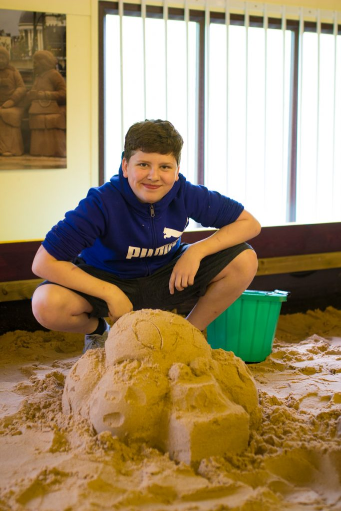 Sand Sculpture Workshops, Sand In Your Eye