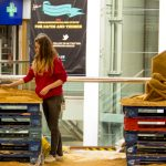 shopping centre events wakefield sand art yorkshire