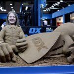 trade show events promo ideas photo props sand sculpture