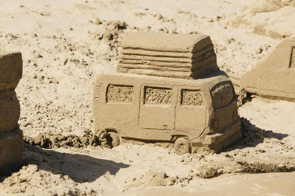 beach sand sculpture events workshops uk