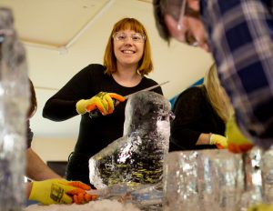 creative workshop ice sculpture north