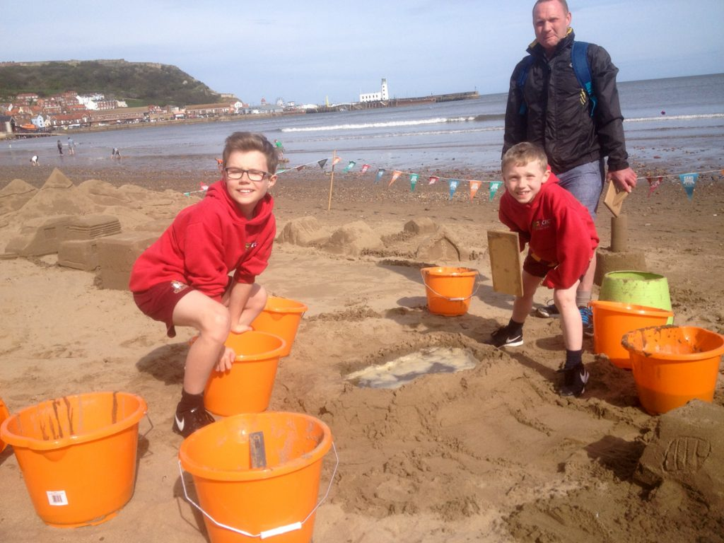 family fun activities sand sculpture workshops