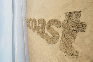 giant sand art drawing on beaches events uk
