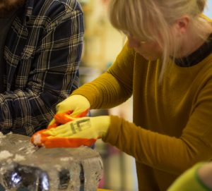hen do ideas make your own ice sculpture