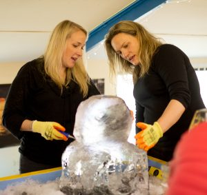 ice sculpture events public workshops