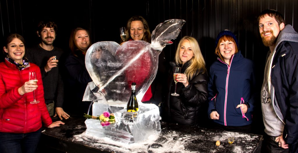ice sculpture experience day yorkshire