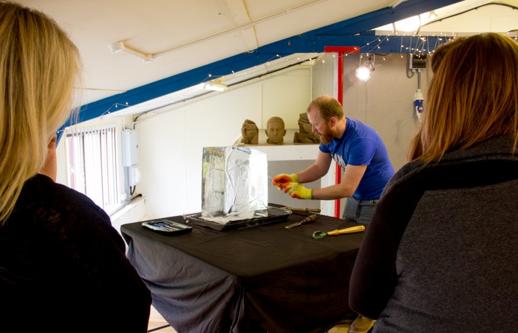 ice sculpture workshop yorkshire