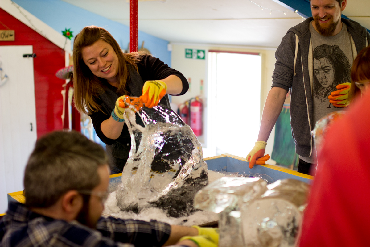 ice sculpture workshops masterclass learn to carve
