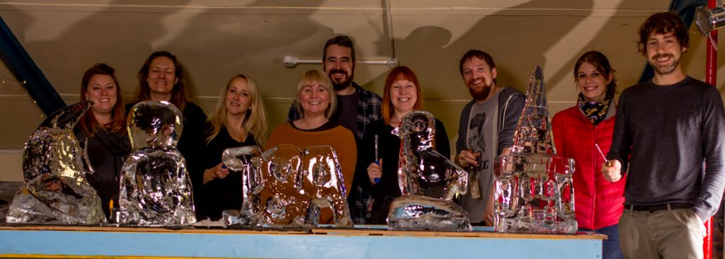 ice sculpture workshops North of England