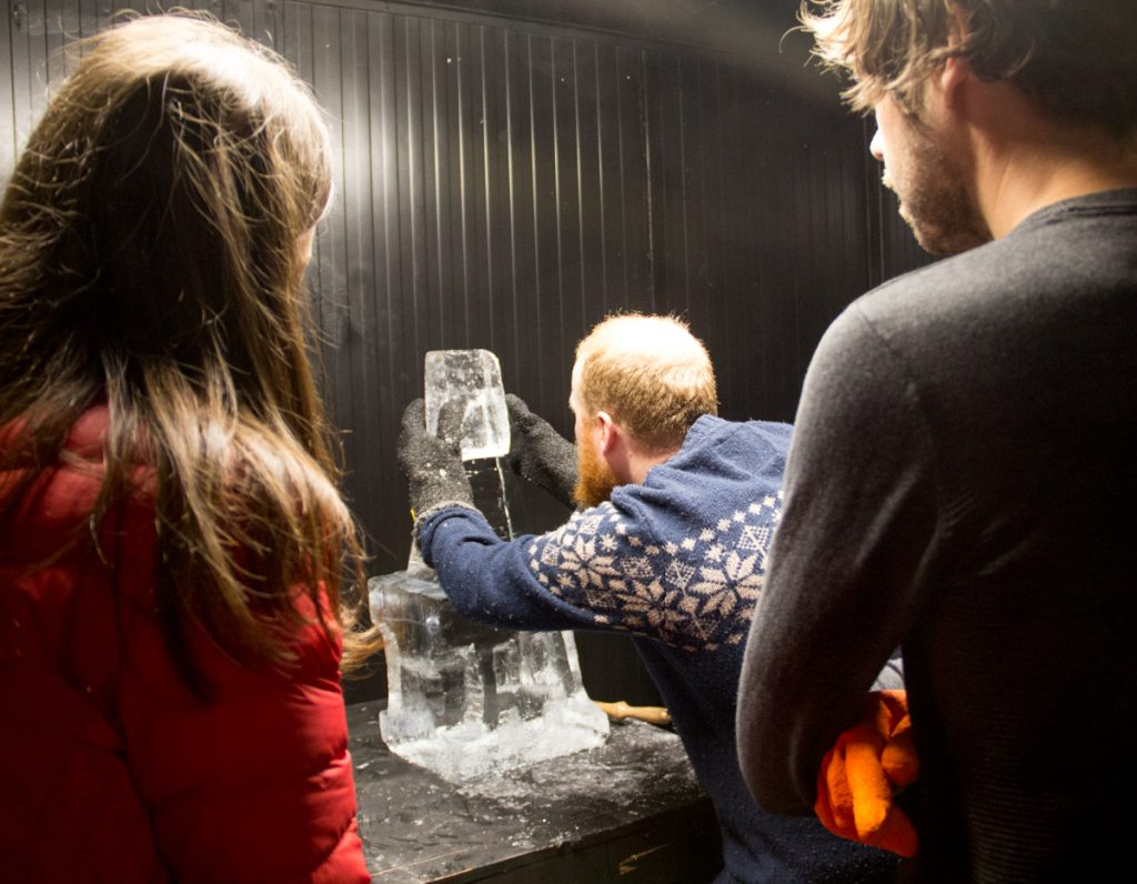 intensive ice sculpture course Yorkshire