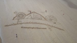 sand drawing yorkshire sand artists giant beach art