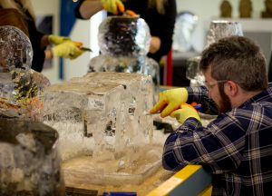 stag do ideas ice sculpture workshop