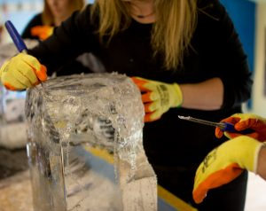 taster session ice sculpture learn to sculpt