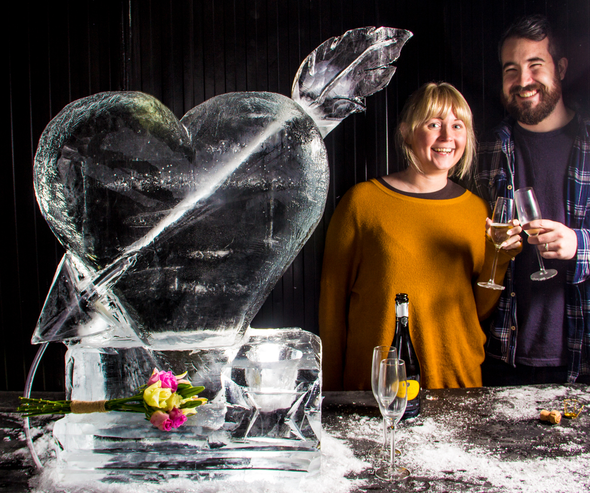 wedding ice Sculpture parties events yorkshire