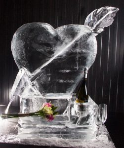 yorkshire wedding ideas ice sculpture