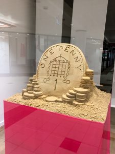 1 day sand sculpture events pop up