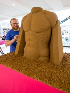 Jamie wardley yorkshire sand artist