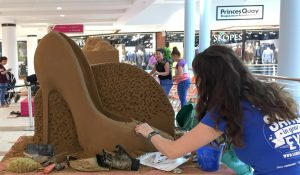 Sand sculpture shopping centre hull yorkshire
