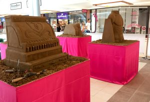 one day events yorkshire sand Sculpture