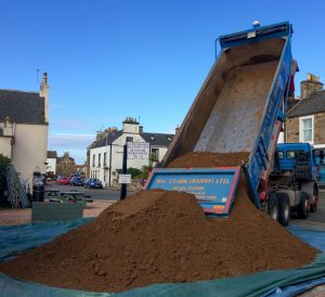 sand delivery fife scotland