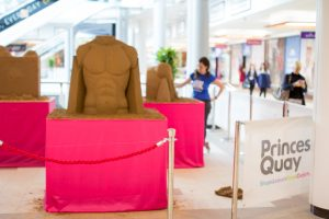 sand sculpture events shopping centre entertainment princes quay hull