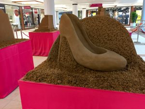 shopping centre activity ideas sand sculpture