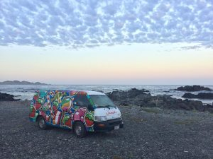 campervan adventures chile wildcamping family