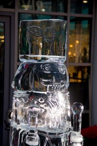 live ice carving professional ice carvers yorkshire leeds bradford sheffield manchester bolton bury