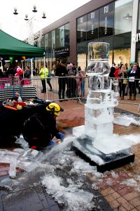 public events ice sculpture christmas ideas