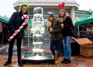 public events ice sculpture yorkshire based ice carvers