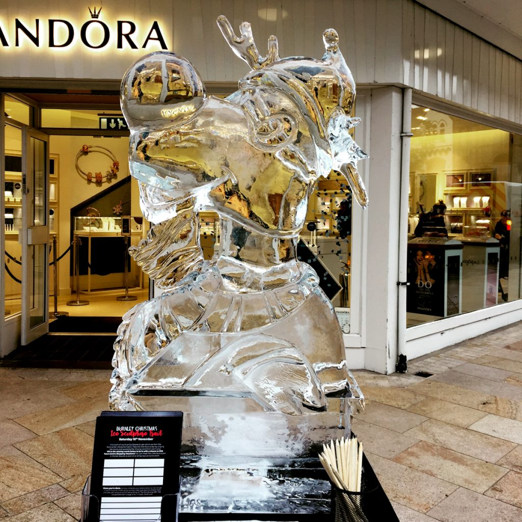 rudolf ice carving yorkshire based ice Sculptors