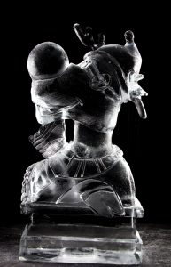 rudolf ice sculpture cartoon characters