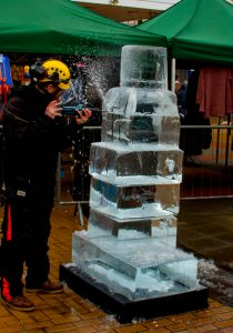 sand in your eye yorkshire based ice sculptures