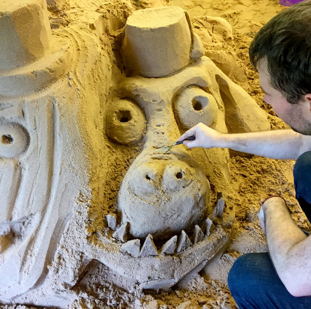 beginners_sculpture_workshop_class_sand_Sculpture