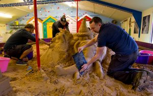 unusual_stag_activities_sand_sculpture