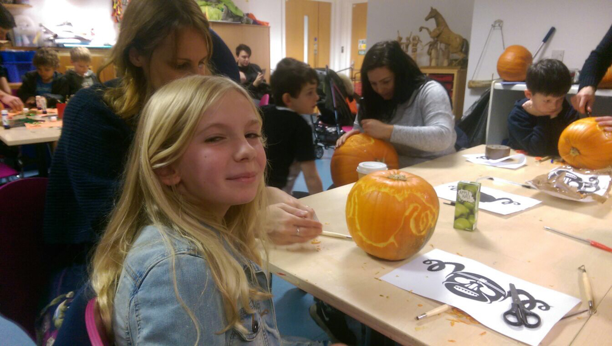 Leeds armouries pumpkin workshops