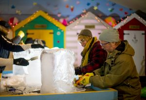 Ice sculpture experience day uk