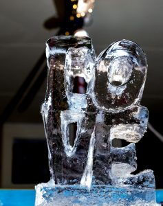 Ice sculpture workshops creative events