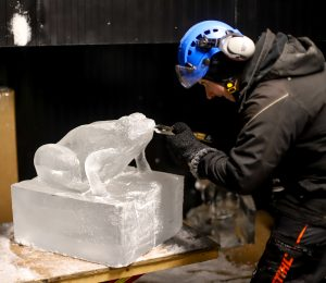 ice sculptor yorkshire