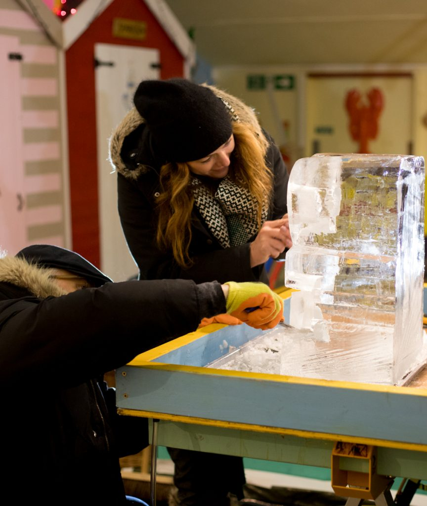 ice sculpture classes leeds