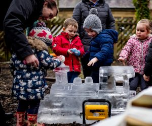 ice sculpture events north