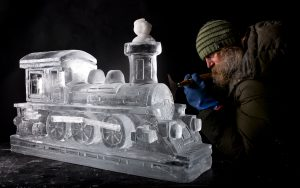 leeds ice sculpture