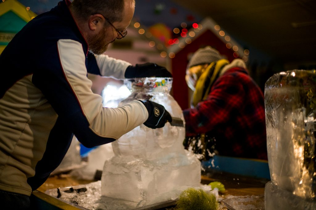 make your own ice sculpture