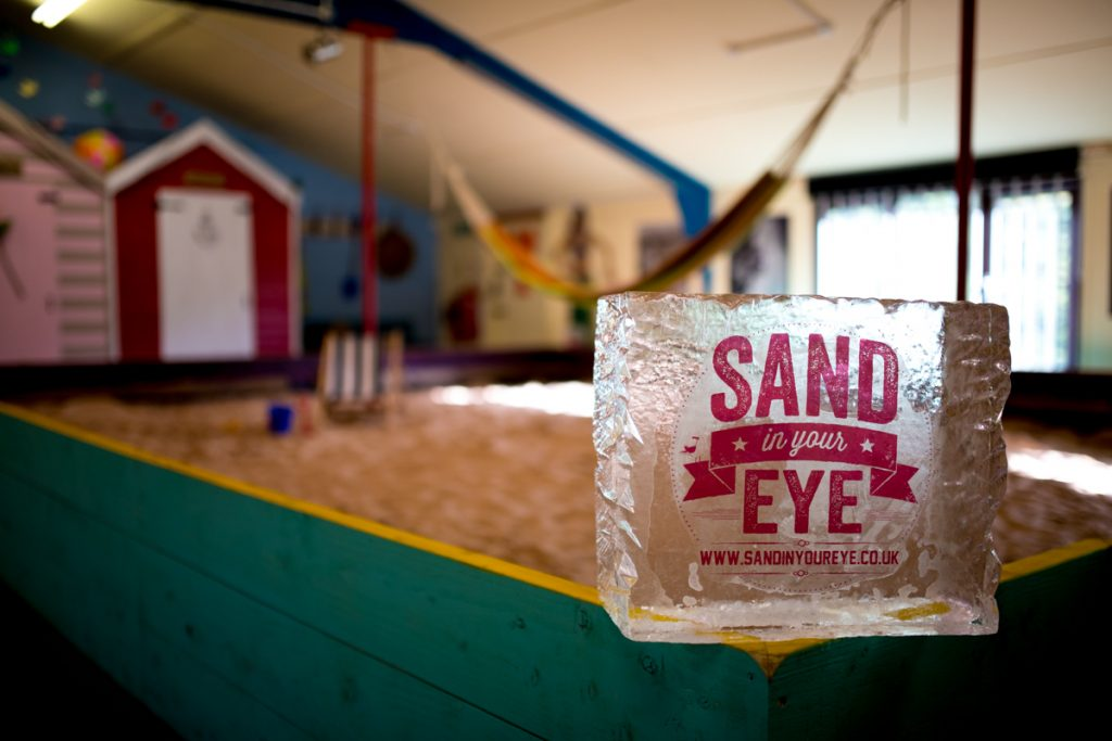 sand in your eye ice sculptures