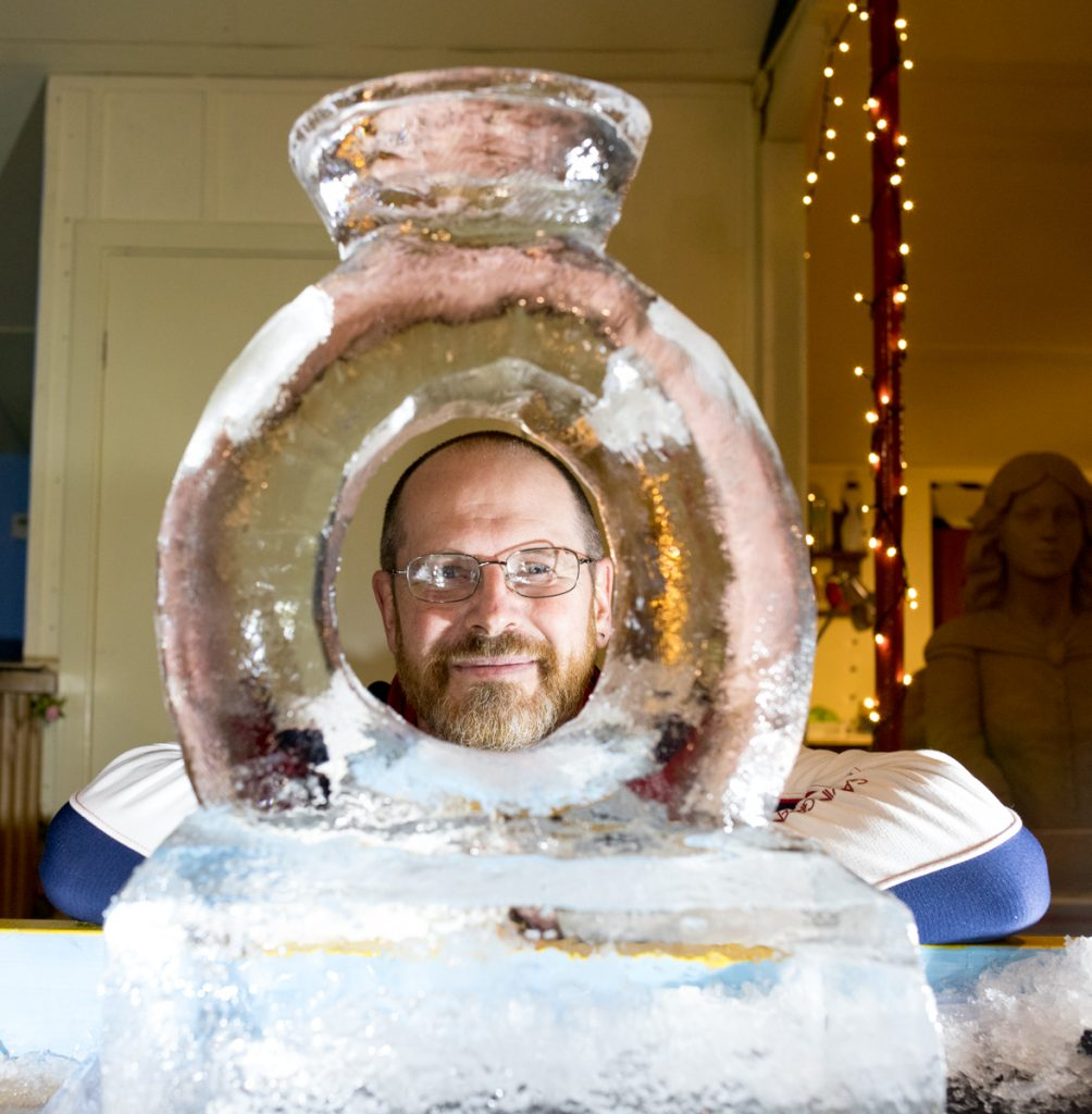 wedding ice sculpture make your own