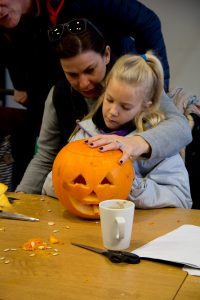 Pumpkin carving workshops for kids halloween sand in your eye