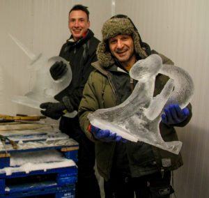 ice sculpture experience day corporate team building events yorkshire Lancashire